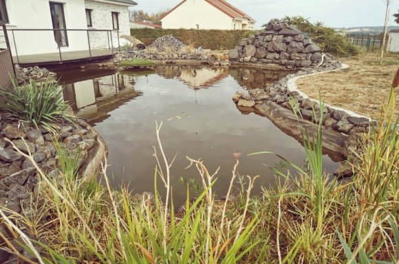 Création de bassin à Dompierre-sur-Besbre